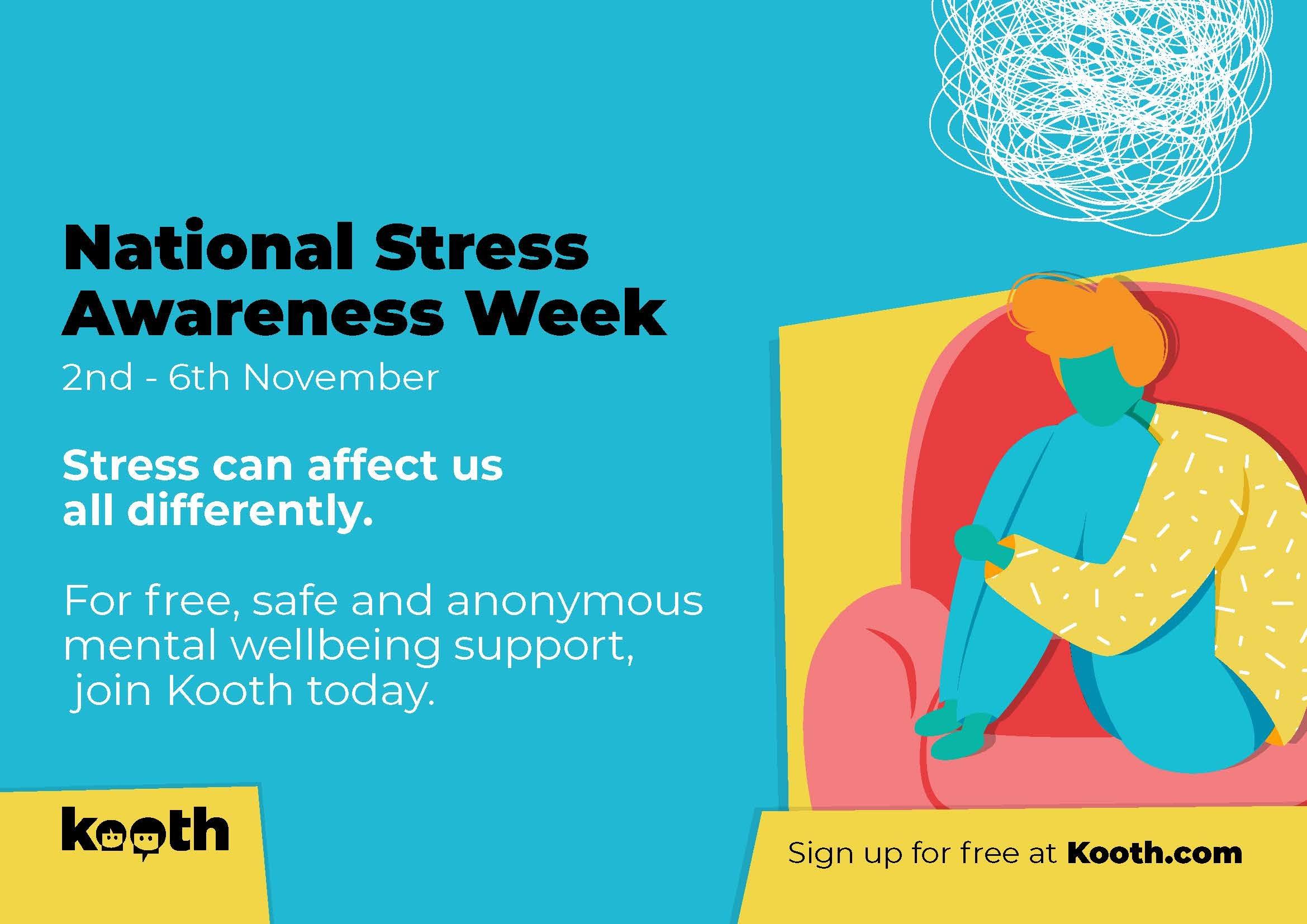 Stress awareness week Kooth