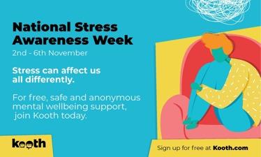 Stress Awareness Week - 2nd to 6th November 2020