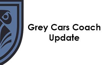 Grey Cars Coach Update