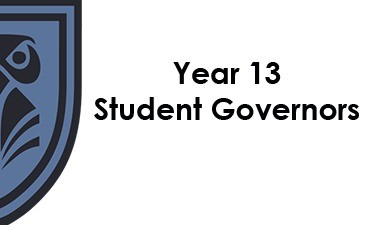 Year 13 Student Governors