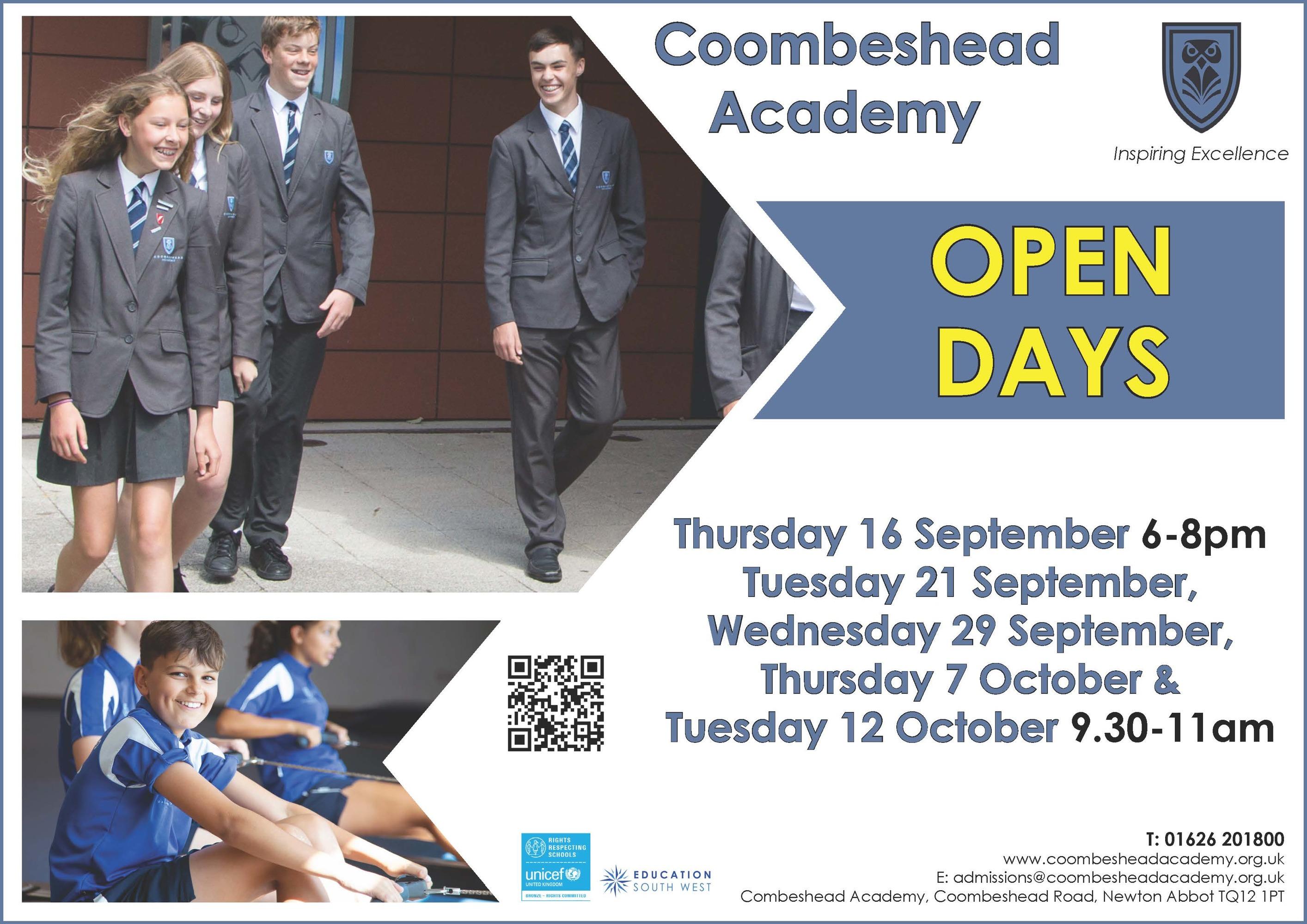 CBD Open Days Poster   Sep 2021
